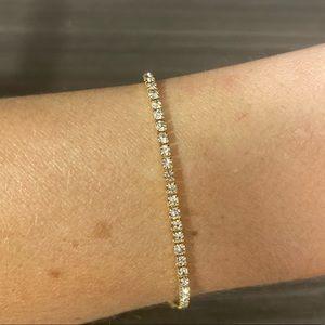 Premium CZ tennis bracelet
